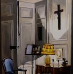 Le Crucifix ( 70 cm x 70 cm )