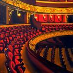 Le théâtre   (120x120cm)